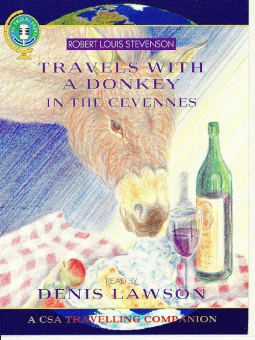 Travels With A Donkey In the Cervennes Cover