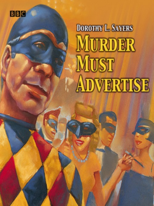 Murder Must Advertise Cover