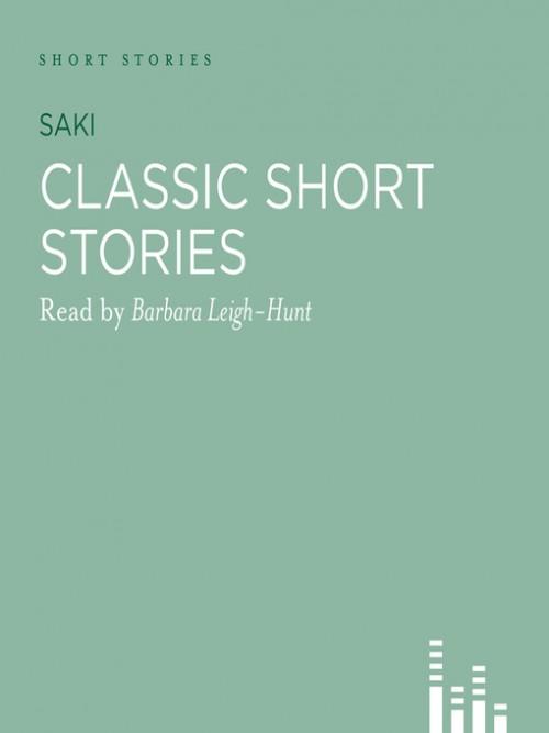 Classic Saki Stories Cover