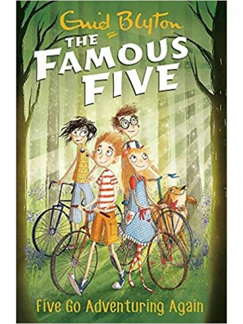 Five Go Adventuring Again Cover