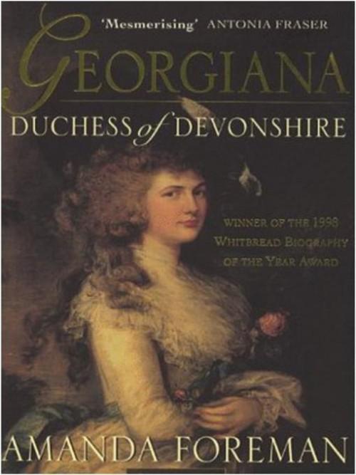 Georgiana, Duchess of Devonshire Cover