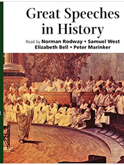 Great Speeches In History Cover