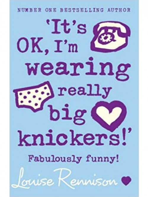 Confessions of Georgia Nicholson Series Book 2: It's Ok, I'm Wearing Really Big Knickers Cover