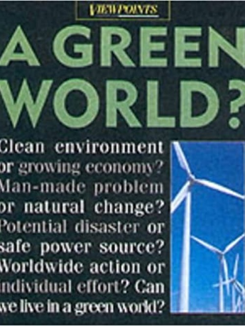 Viewpoints: A Green World? Cover