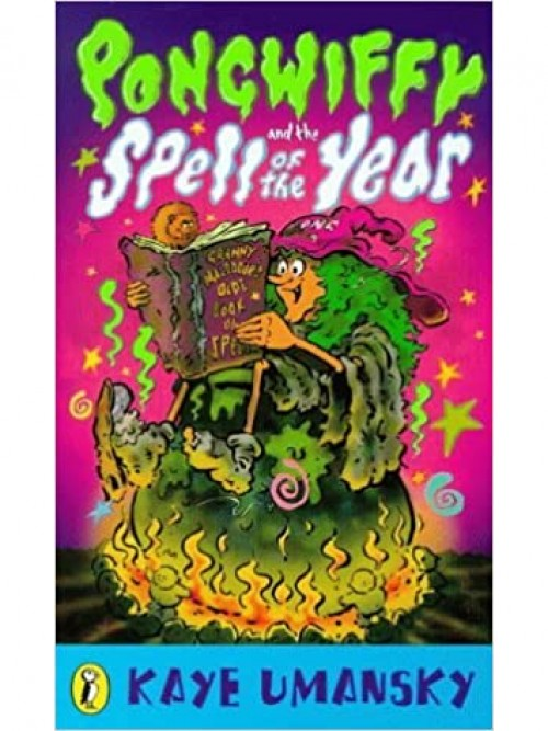 Pongwiffy and the Spell of the Year Cover