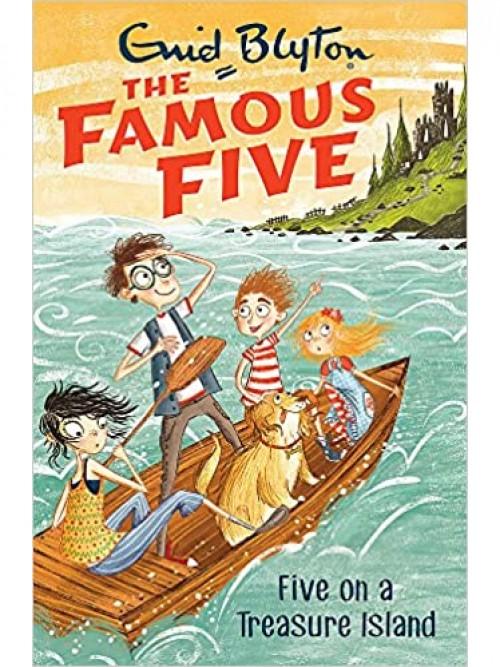 Five On A Treasure Island Cover