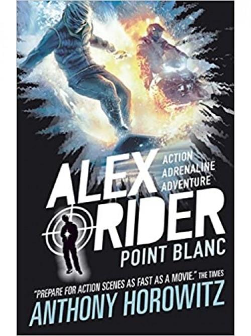 Alex Rider Series Book 2: Pointblanc Cover