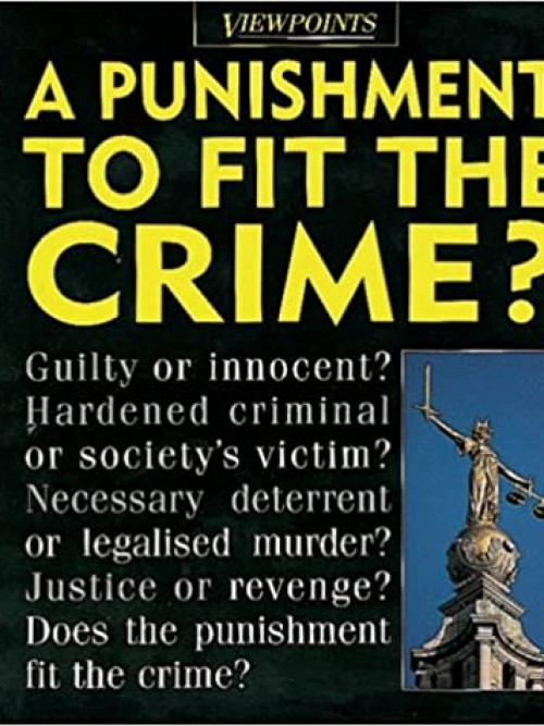 A Punishment To Fit the Crime? Cover