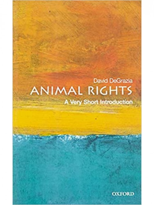 A Very Short Introduction To Animal Rights Cover