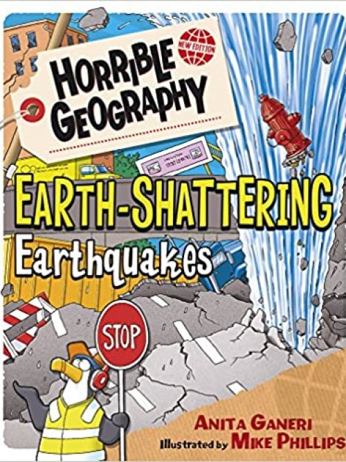 Horrible Geography: Earth Shattering Earthquakes Cover