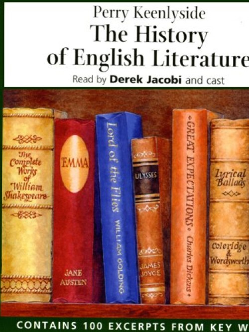 The History of English Literature Cover