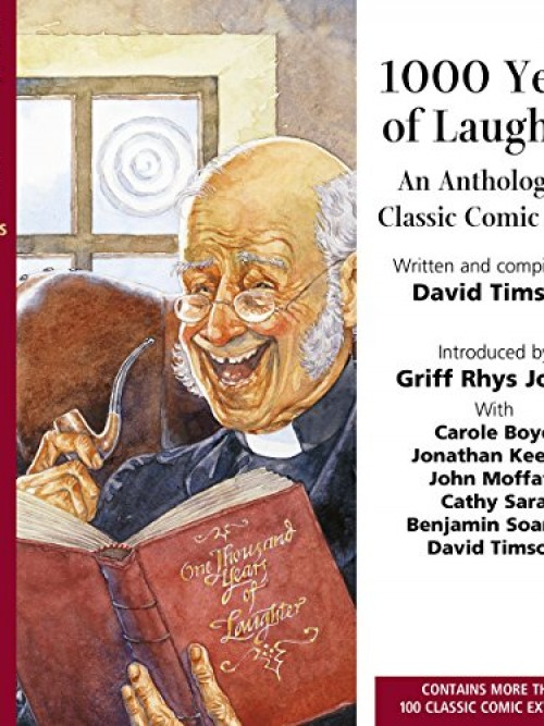 1000 Years of Laughter: An Anthology of Classic Comic Prose Cover