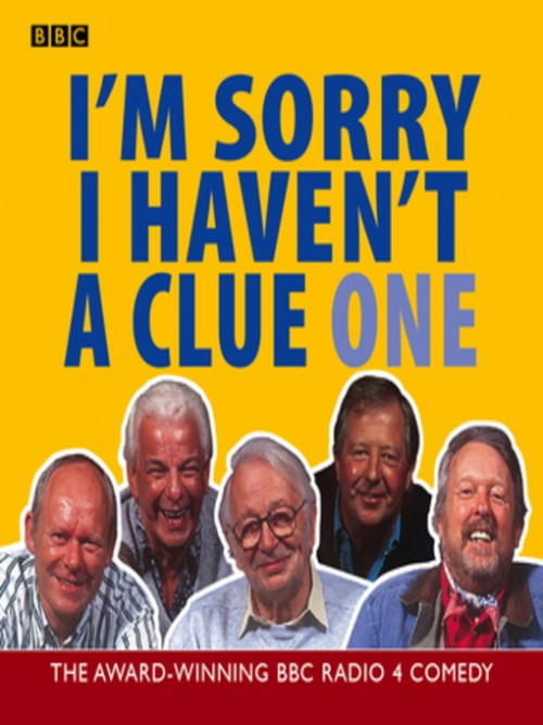 I'm Sorry I Haven't A Clue Cover