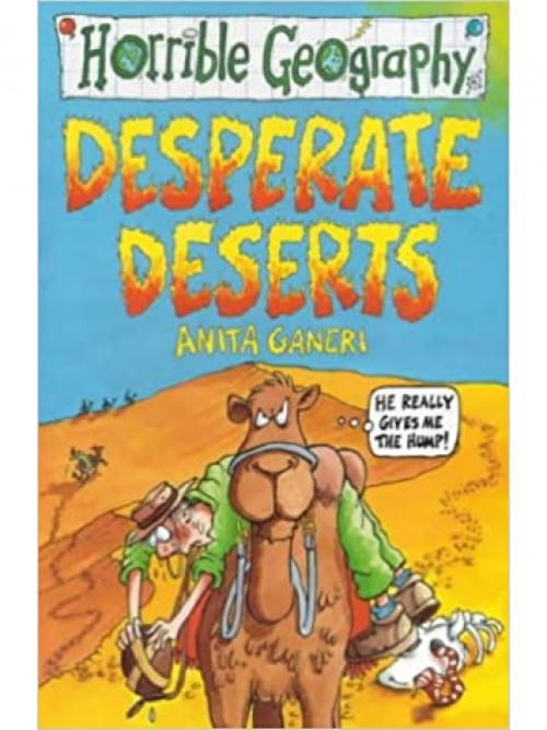 Horrible Geography: Desperate Deserts Cover