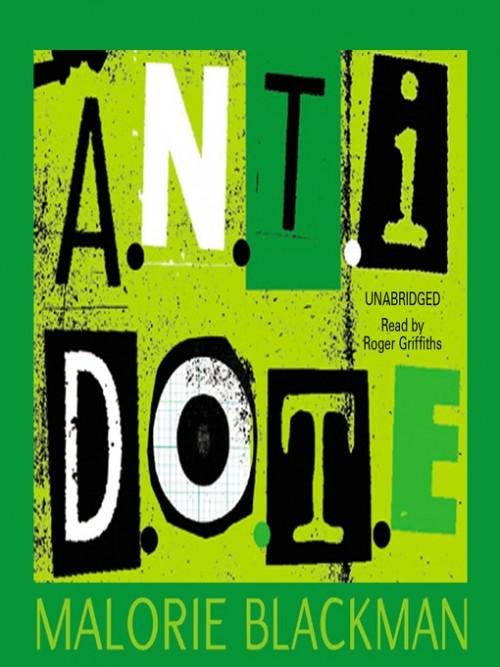 A.n.t.i.d.o.t.e. Cover