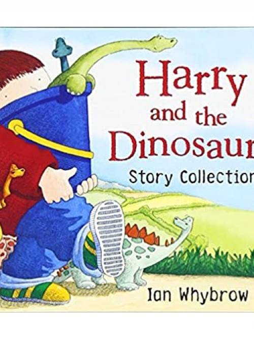 Harry and the Dinosaurs Story Collection Cover