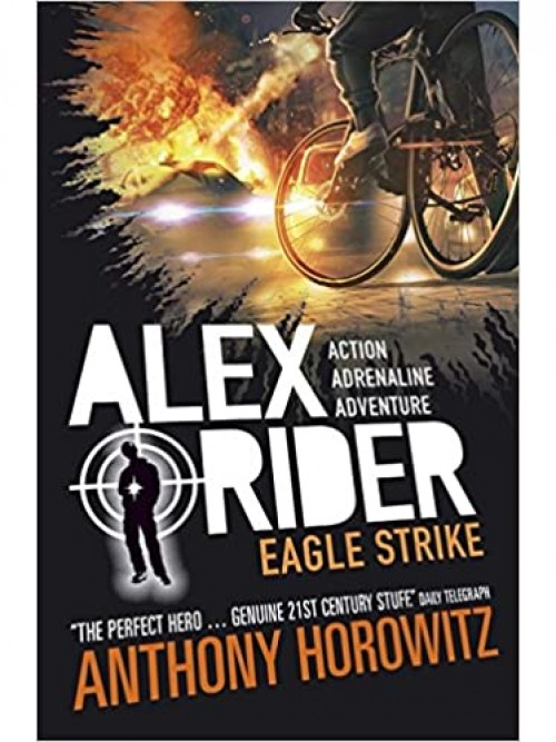 Alex Rider Series Books 3 & 4: Skeleton Key & Eagle Strike Cover