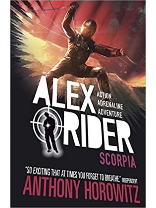 Alex Rider Series Book 5: Scorpia Cover
