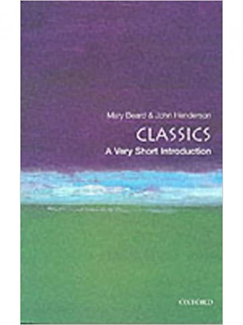 Classics: A Very Short Introduction Cover