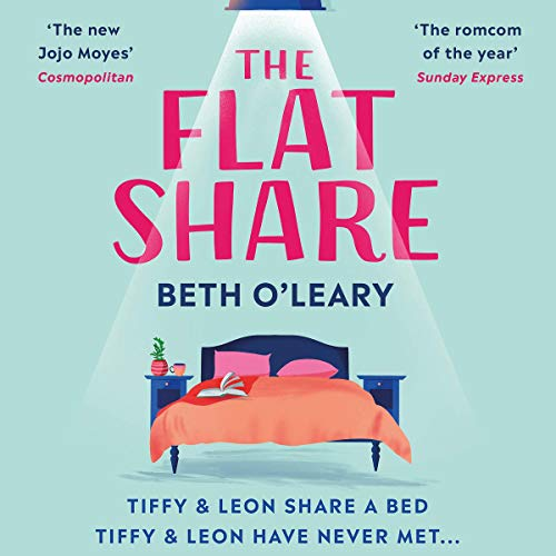 Audiobook cover for The Flat Share