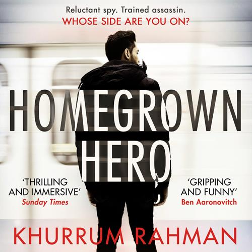 Audiobook cover for Homegrown Hero