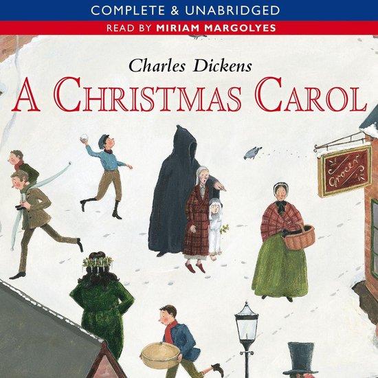 The audiobook cover of A Christmas Carol