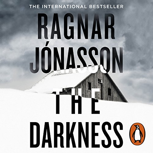 The audiobook cover of The Darkness