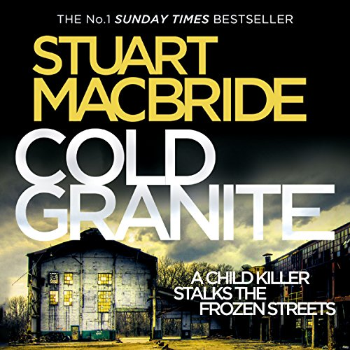 The audiobook cover of Cold Granite