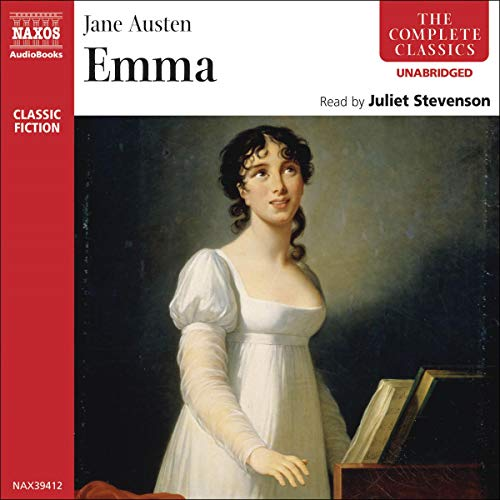 The audiobook cover of Emma (Naxos)