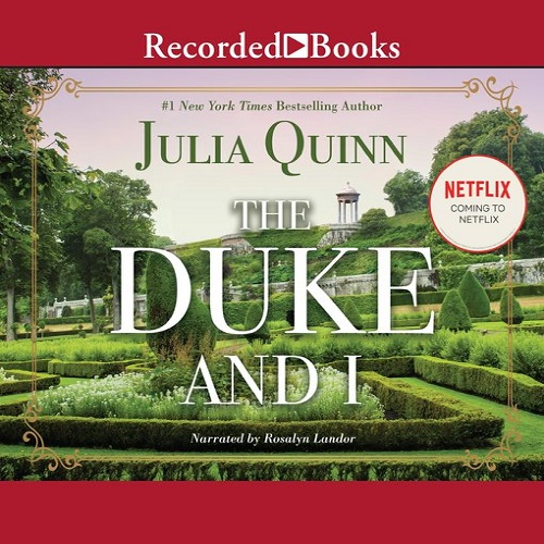 The audiobook cover of The Duke and I