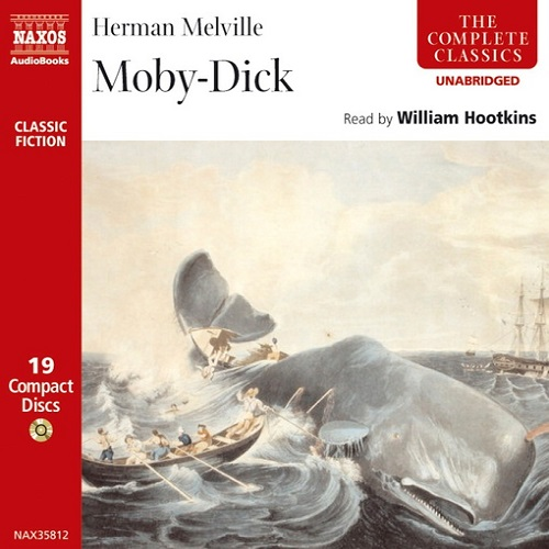 The audiobook cover of Moby Dick