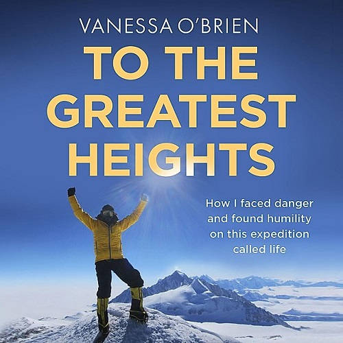 The audiobook cover of To The Greatest Heights