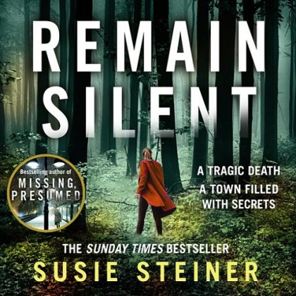 The audiobook cover of Remain Silent