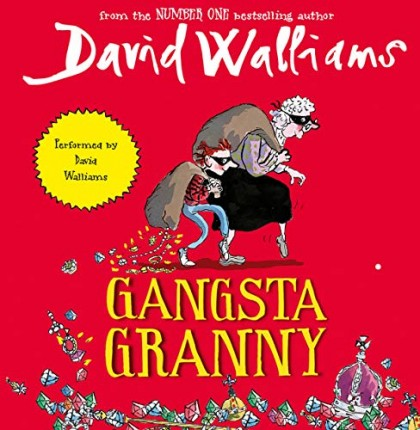The audiobook cover of Gangsta Granny
