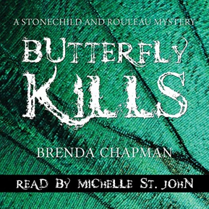 The audiobook cover of Butterfly Kills