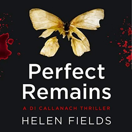 The audiobook cover of Perfect Remains