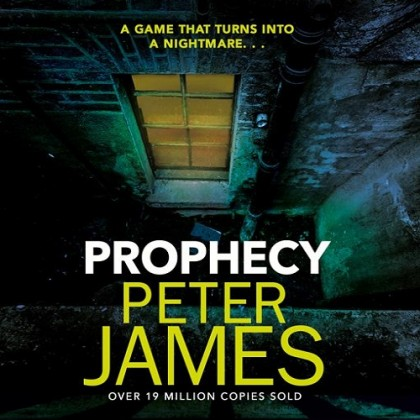 The audiobook cover of Prophecy