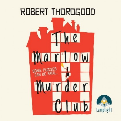 The audiobook cover of The Marlow Murder Club