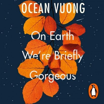 The audiobook cover of On Earth We're Briefly Gorgeous