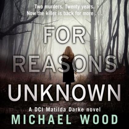 The audiobook cover of For Reasons Unkown