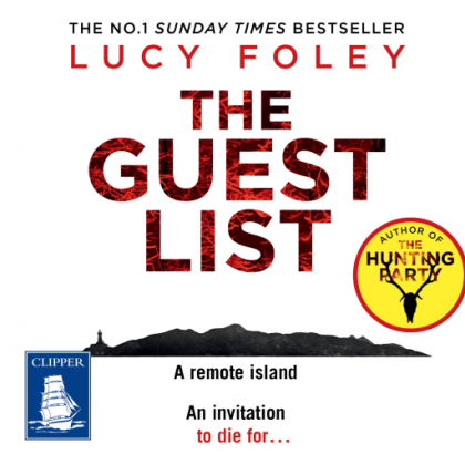 The cover of The Guest List