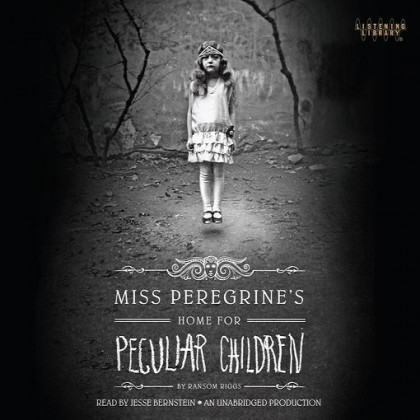 The audiobook cover of Miss Peregrine's Home for Peculiar Children