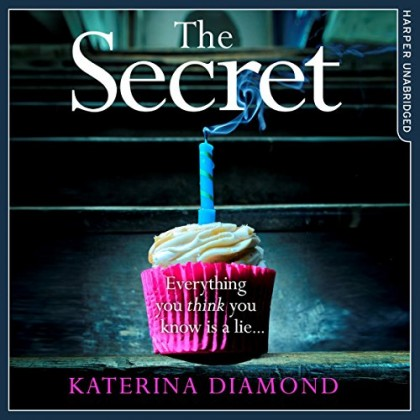 The audiobook cover of The Secret