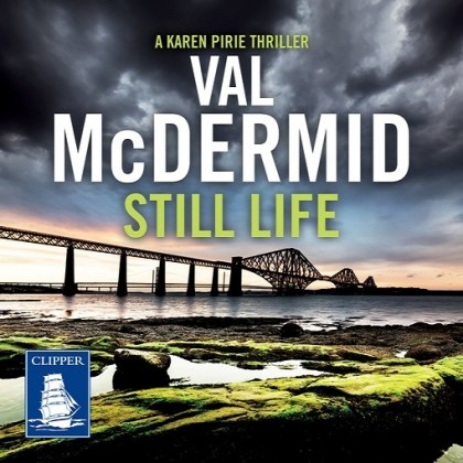 The audiobook cover of Still Life